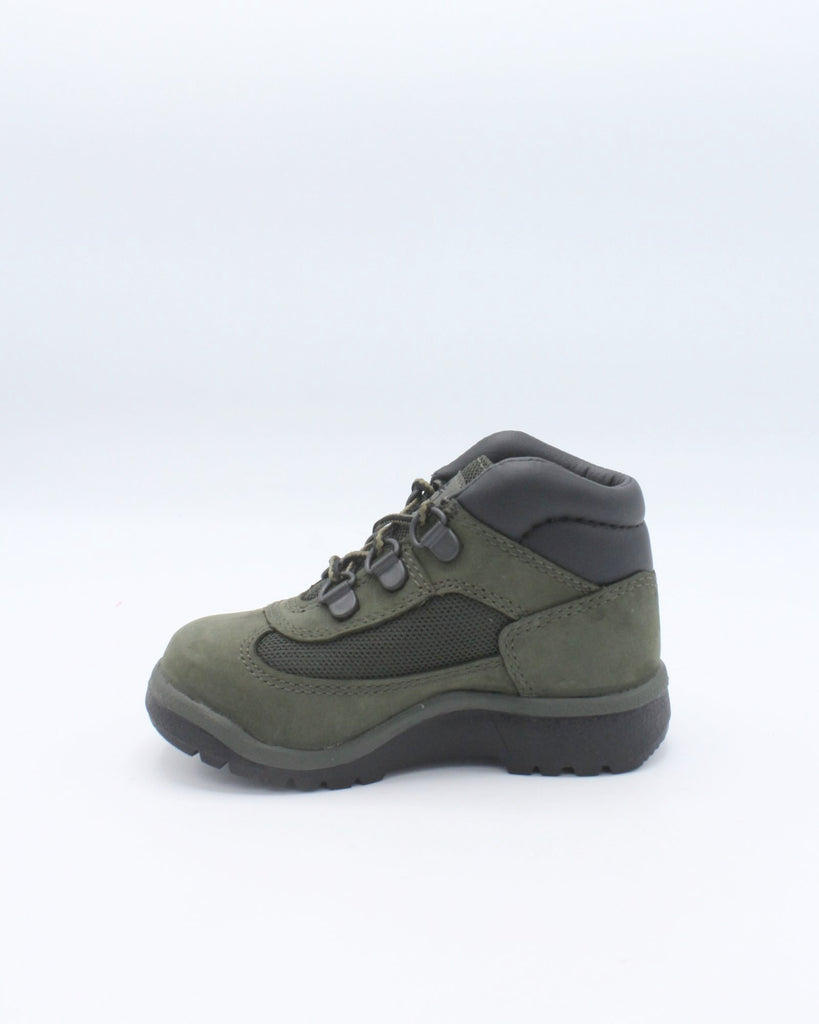 TIMBERLAND Mid Field Boot (Toddler/Pre School) - Green - Vim.com