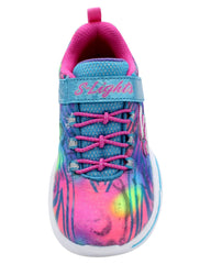 SKECHERS Power Petals Sneaker (Pre School) - Multi - Vim.com