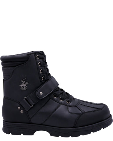 BEVERLY HILLS POLO CLUB Men'S Ranger Hi Boots - Black - Vim.com