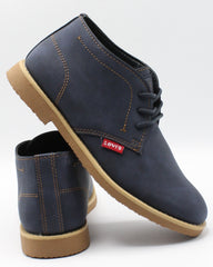 LEVI'S Men'S Sonoma Wax Nb Boot - Navy - Vim.com