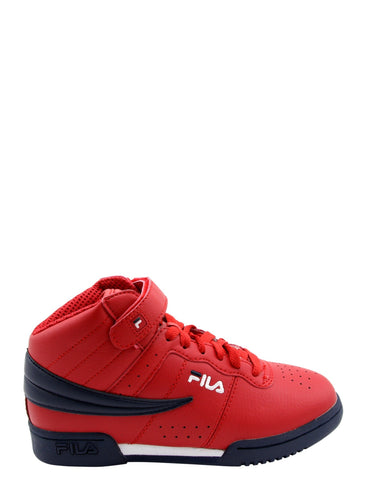 FILA-Boys' F-13 Sneaker (Grade School) - Red Navy-VIM.COM