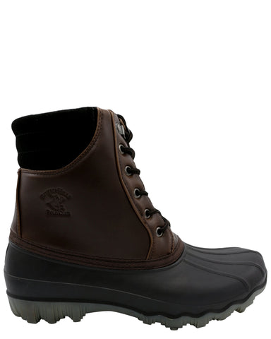 BEVERLY HILLS POLO CLUB Men'S Snow Boot - Chocolate - Vim.com