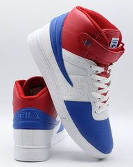 FILA Men'S Vulc 13 Mp Bc Sneaker - White Blue Red - Vim.com