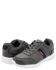 LEVI'S Stallion Burnish Sneaker (Pre School) - Grey - Vim.com