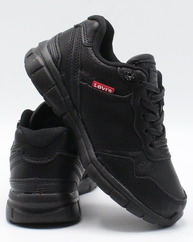 LEVI'S-Colby Burnish Sneaker (Pre School) - Black-VIM.COM