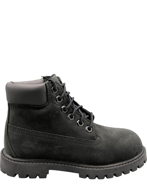 TIMBERLAND-6-Inch Waterproof Boots (Toddler/Pre School) - Black-VIM.COM