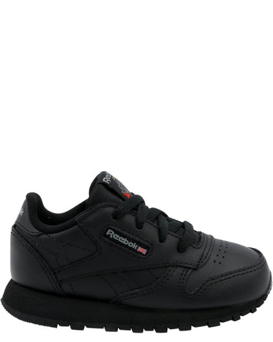 REEBOK-Classic Leather Sneaker (Toddler) - Black-VIM.COM