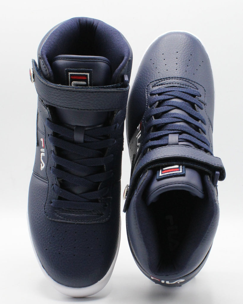 FILA Men'S Vulc 13 Mp Phente Sneaker - Navy White - Vim.com