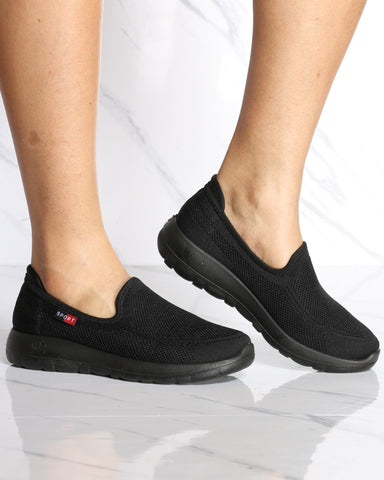 Women's Marilyn Non-Slip Restaurant Shoe - Black-VIM.COM