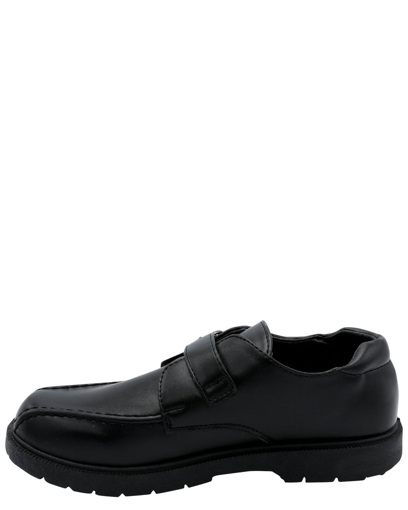 Eddie Marc Kids Boy'S School Shoe (Pre School/Grade School) - Black - Vim.com