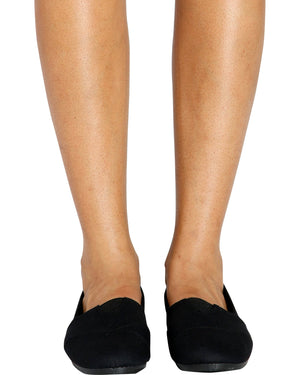 VIM VIXEN Cammy Canvas Slip On Shoe - Black - ShopVimVixen.com