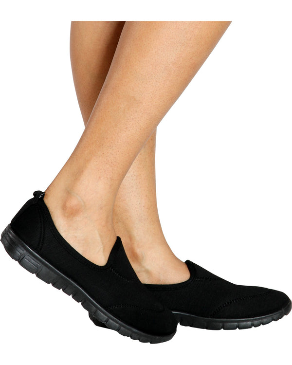 Women's Lorita Memory Foam Shoe - Black