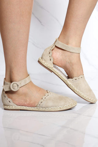 Women's Madison Espadrille Flat - Natural-VIM.COM