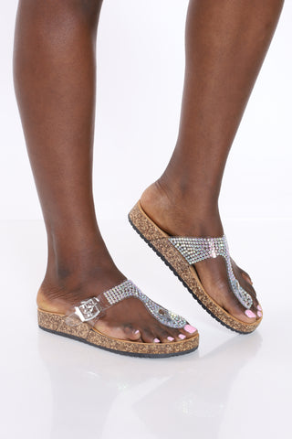 Women's Alyson Sandal - Clear