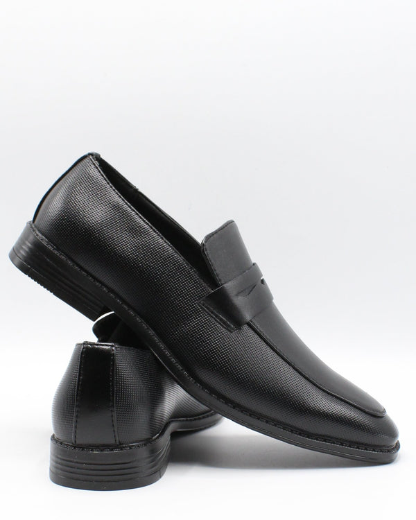 VIM Men'S Slip On Perf Shoe - Black - Vim.com