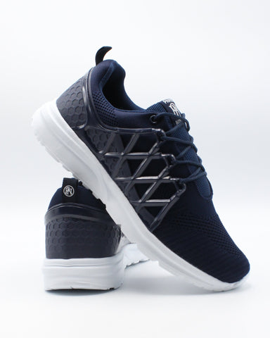 PARISH NATION Men'S Lace Up Sneaker - Navy - Vim.com