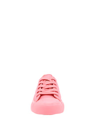 Girl'S Low Top Canvas Lace Up Sneaker (Available In 3 Colors)