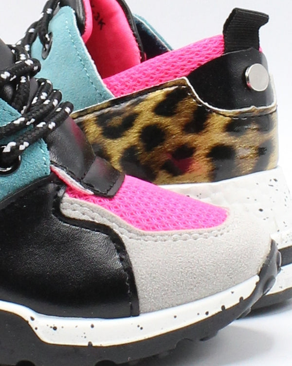 VIM VIXEN Girls Color Block Fashion Sneaker - Neon Pink - Vim.com