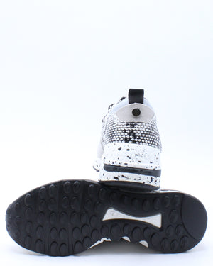 Kid's Fashion Sneaker - White Snake