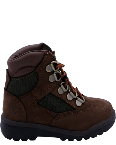 TIMBERLAND Boy'S 6-Inch Field Boot (Toddler/Pre School) - Chocolate - Vim.com