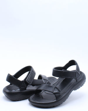 Kid's Light Weight Sporty Sandal (Pre School/Grade School) - Black