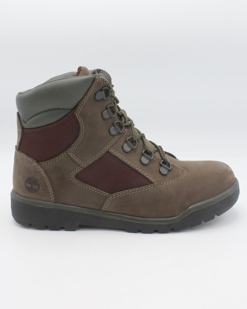 TIMBERLAND Mixed-Media Field Boot (Grade School) - Brown - Vim.com