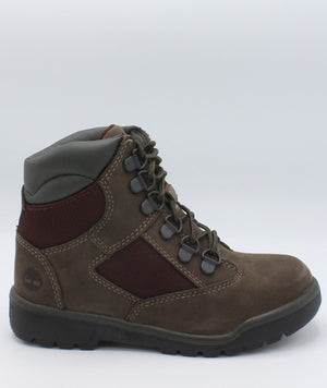 TIMBERLAND Mixed-Media Field Boot (Pre School) - Brown - Vim.com