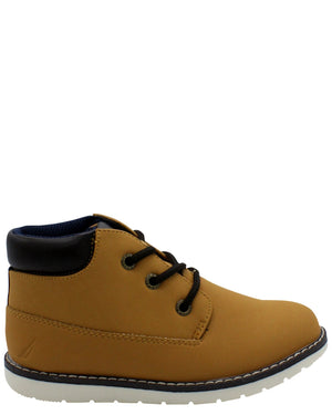 NAUTICA Plot Casual Boot (Pre School) - Wheat - Vim.com