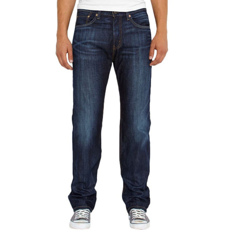 LEVI'S Men'S 505 Regular Fit Jeans - Navy - Vim.com