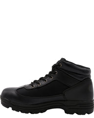 MOUNTAIN GEAR Men'S Black Cloth Boots - Black - Vim.com