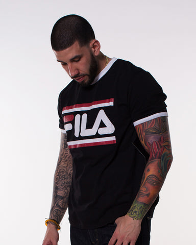 Men's Flia Logo Bars Tee