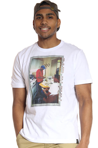 Men's Paid In Full Money Tee - White