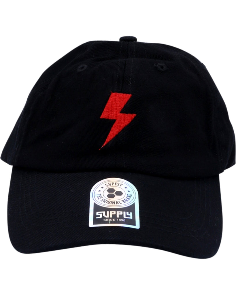 Supply Volt Dad Hat - Black - Vim.com