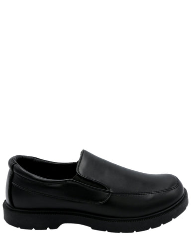 Eddie Marc Kids Boy'S Slip On School Shoe (Pre School/Grade School) - Black - Vim.com