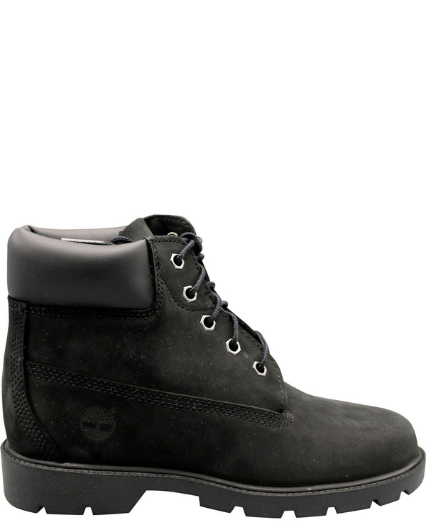 TIMBERLAND-Classic 6-Inch Boots (Pre School) - Black-VIM.COM