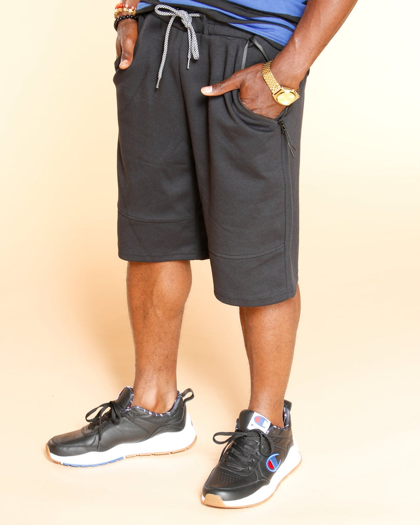 VIM Tech Fleece Shorts - Black - Vim.com