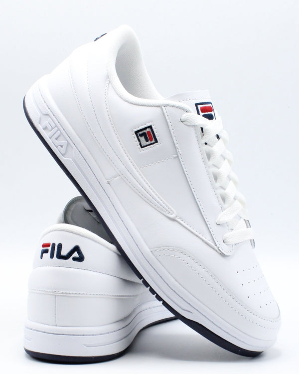 FILA-Men's Tennis 88 Sneaker - White Navy Red-VIM.COM
