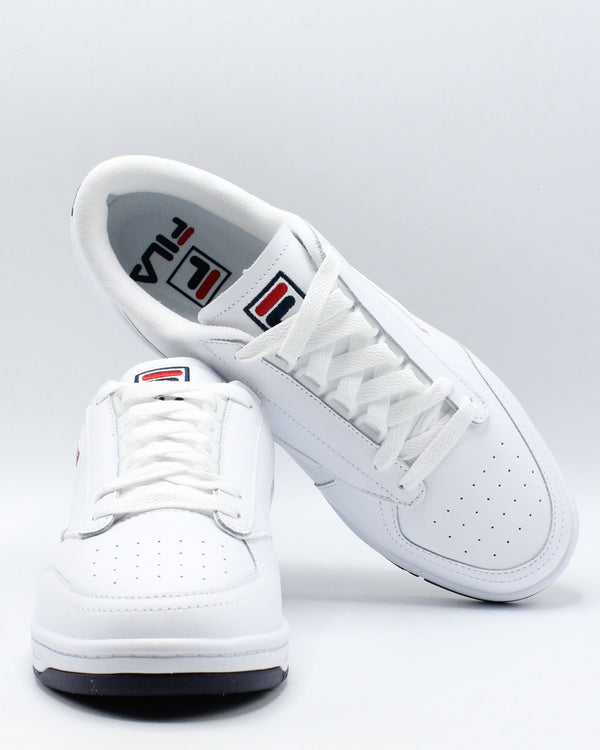 FILA Men'S Tennis 88 Sneaker - White Navy Red - Vim.com