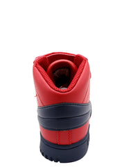 FILA Boys' F-13 Sneaker (Grade School) - Red Navy - Vim.com