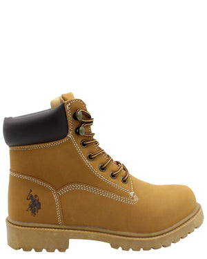 U.S. POLO ASSN.-Men's 6 Inch Boot - Wheat-VIM.COM