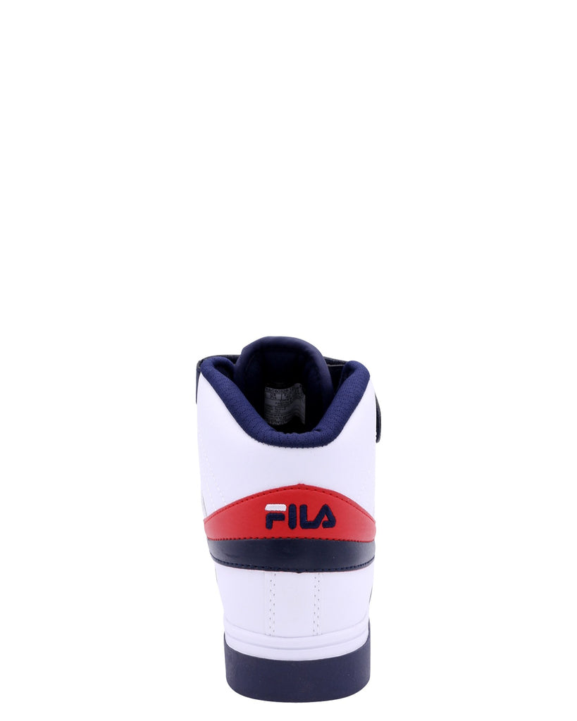 FILA Men'S Vulc 13 Mid Plus - White Navy Red - Vim.com