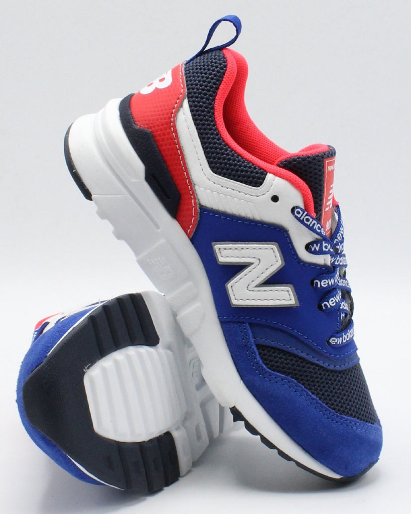 NEW BALANCE 997 H Sneaker (Pre School) - Navy Red - Vim.com