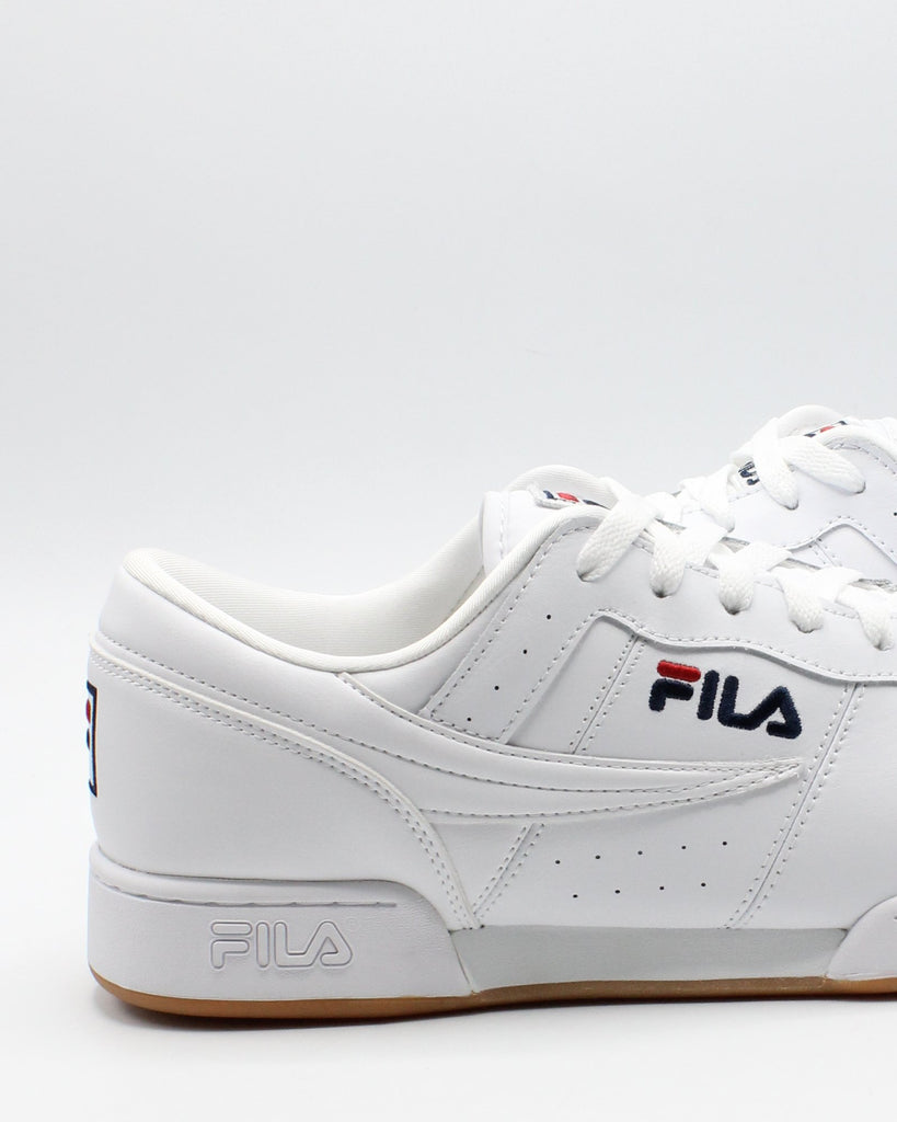 FILA Men'S Original Fitness Sneaker - White - Vim.com