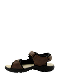 VIM Men'S Open Toe Strap Athletic Sandal - Brown - Vim.com