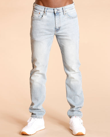 LEVI'S-Men's 502 Regular Tapered Jeans - Blue-VIM.COM