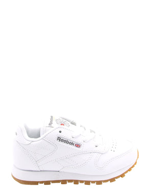 REEBOK-Classic Leather Gum Sneakers (Toddler) - White-VIM.COM