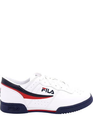 FILA-Men's Original Fitness Sneaker - White Navy Red-VIM.COM