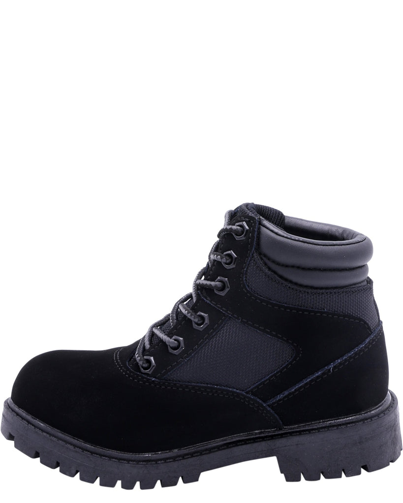 MOUNTAIN GEAR Boys' Moorland Hi Boots (Pre School) - Black - Vim.com
