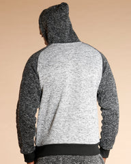 VIM Raglan Color Block Sweater - Black - Vim.com