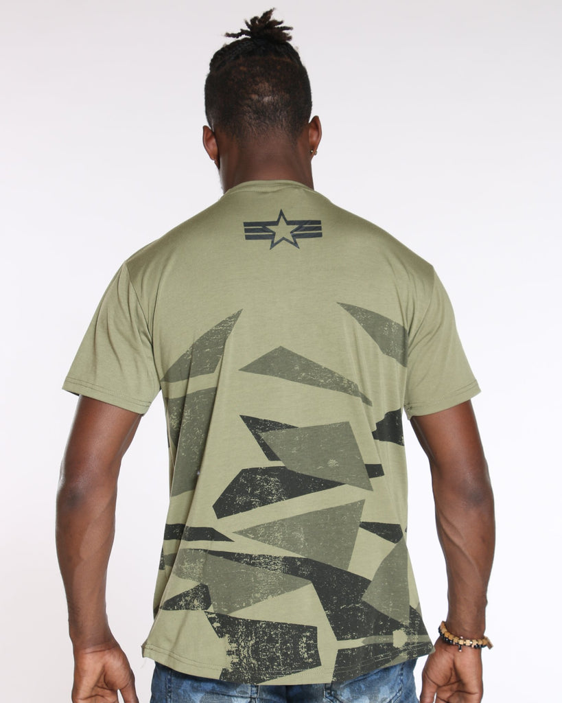 VIM Need Look Deeper The Real Tee - Olive - Vim.com